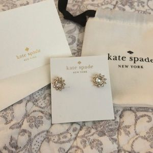Double duty reversible Kate spade earrings!